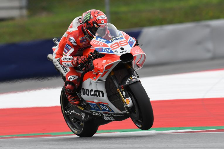 MotoGP | MotoGP:テストで約100周を走り込んだロレンソ。「より自然にマシンに乗れる」