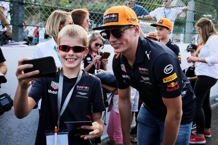 F1   F1ベルギーGP木曜会見:8万人もの母国ファンにさすがのフェルスタッペンも緊張気味