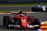 F1 | F1ベルギーGP フリー走行1回目:ライコネンがトップタイム、母国GPのバンドーンが10番手