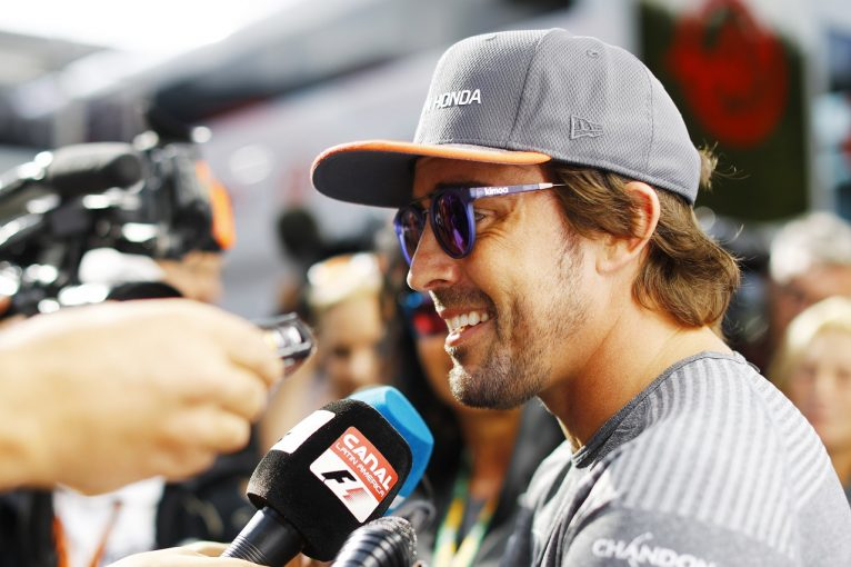 F1 | アロンソ「マシンはまずまず。あとコンマ数秒見つけて入賞につなげたい」マクラーレン・ホンダF1ベルギー