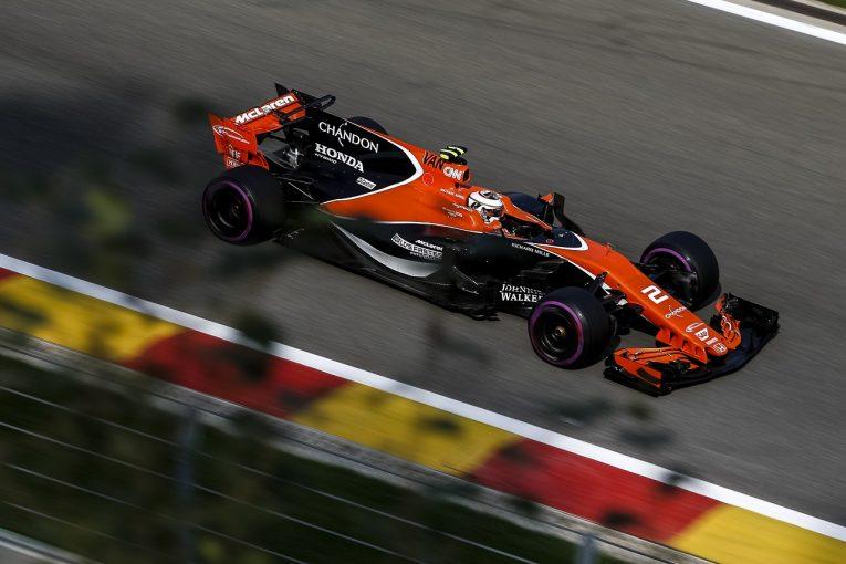 F1 | マクラーレン・ホンダF1のバンドーン、パワーユニットに加えてギヤボックスも交換で合計40グリッドダウンへ