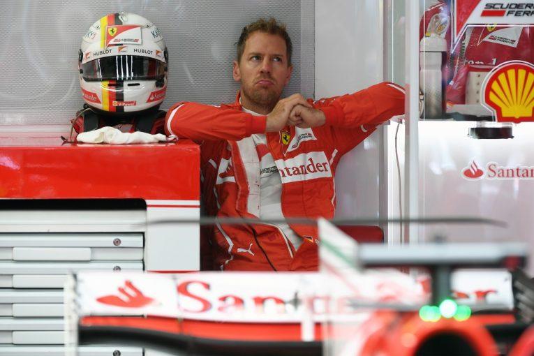 F1   ベッテル「メルセデスを苦しめるため、もっといい仕事をしなくては」:フェラーリ F1ベルギーGP金曜