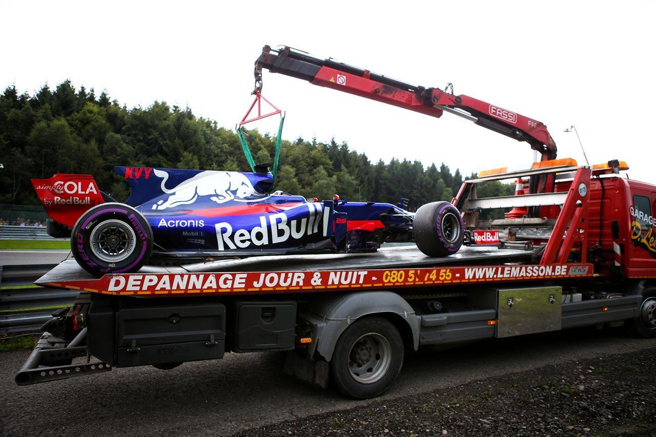 ライコネンがトップタイム【タイム結果】F1第12戦ベルギーGP フリー走行3回目