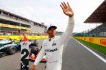 F1 | F1ベルギーGP予選:ハミルトンがシューマッハーに並ぶ68回目のPPを獲得。アロンソは11番手