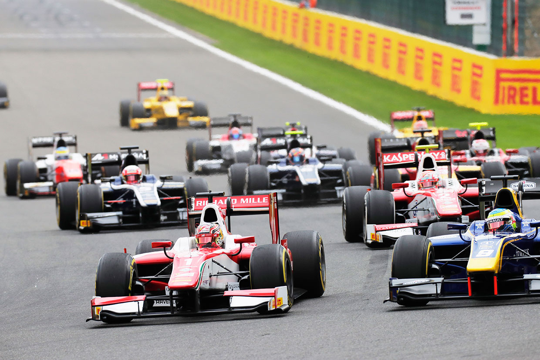 【順位結果】FIA F2第8戦ベルギー決勝レース1