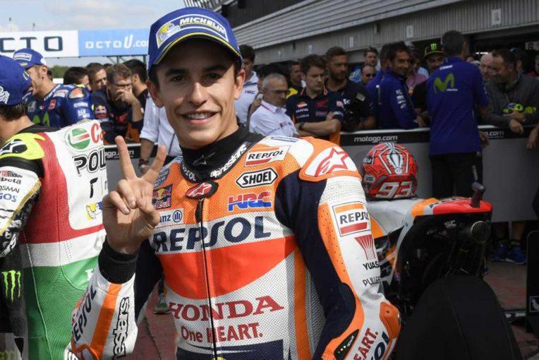 MotoGP   MotoGP:マルケス「59秒台を出すチャンスがあった」/イギリスGP予選トップ3コメント