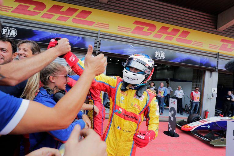 海外レース他 | 【順位結果】GP3第5戦ベルギー決勝レース2