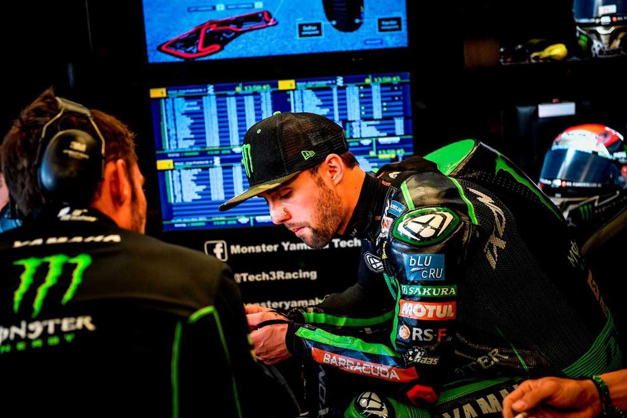 MotoGP:フォルガーがウォームアップ走行のクラッシュによりイギリスGP決勝を欠場