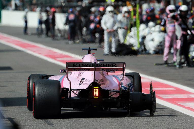 F1 | チームメイトのオコンと接触のペレス、一部謝罪も「彼が楽観的すぎた」