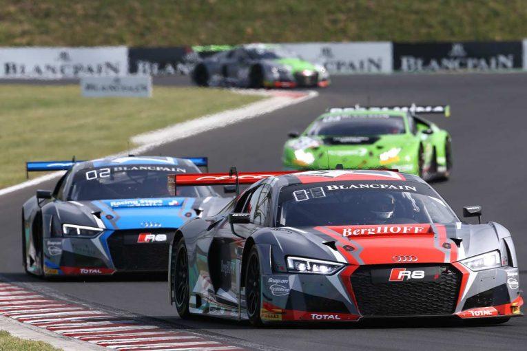 ル・マン/WEC | ブランパンGT:第8戦ブダペスト、ファスラー組5号車アウディが接戦制し週末2連勝