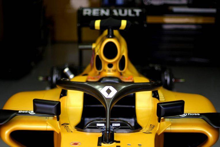 F1 | ハロ導入がチームにとっての負担に。ルノーF1は2018年型マシン開発への影響を懸念