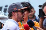 F1   F1 Topic:アロンソが訴える突然のエンジン不調で、疑惑がもたれる故意のリタイア