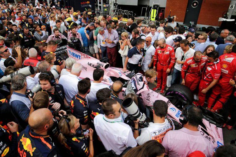 F1   F1第12戦ベルギーGP決勝トップ10ドライバーコメント