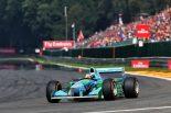F1 | ミハエル・シューマッハーの初優勝から25周年。F1ベルギーGPでミックが父のベネトンを駆りデモ走行