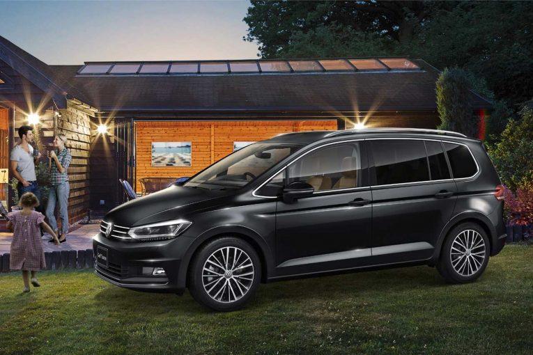 クルマ   イタリア・ミラノをイメージ。VW、上質さ高めた『ゴルフ トゥーラン』限定車発売