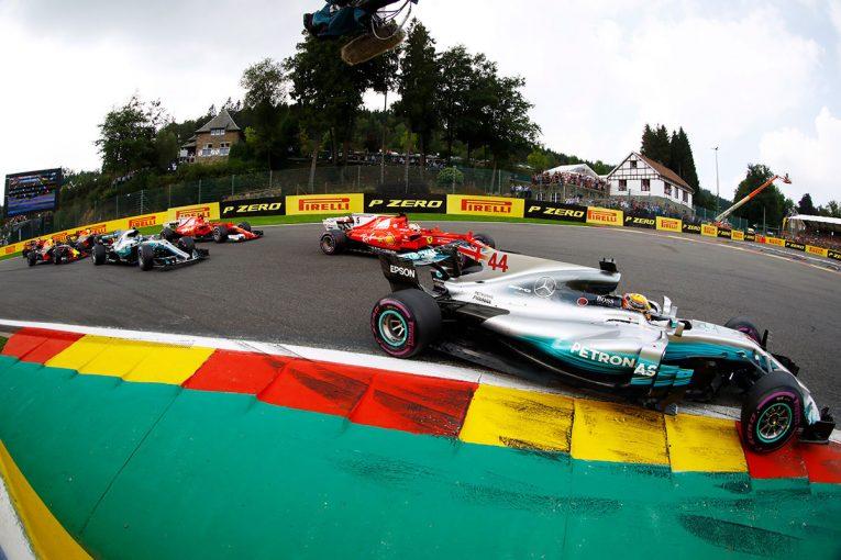 F1   【F1ベルギーGP無線レビュー】ハミルトン辛勝でメルセデスの圧倒的な優位性はもはやなし