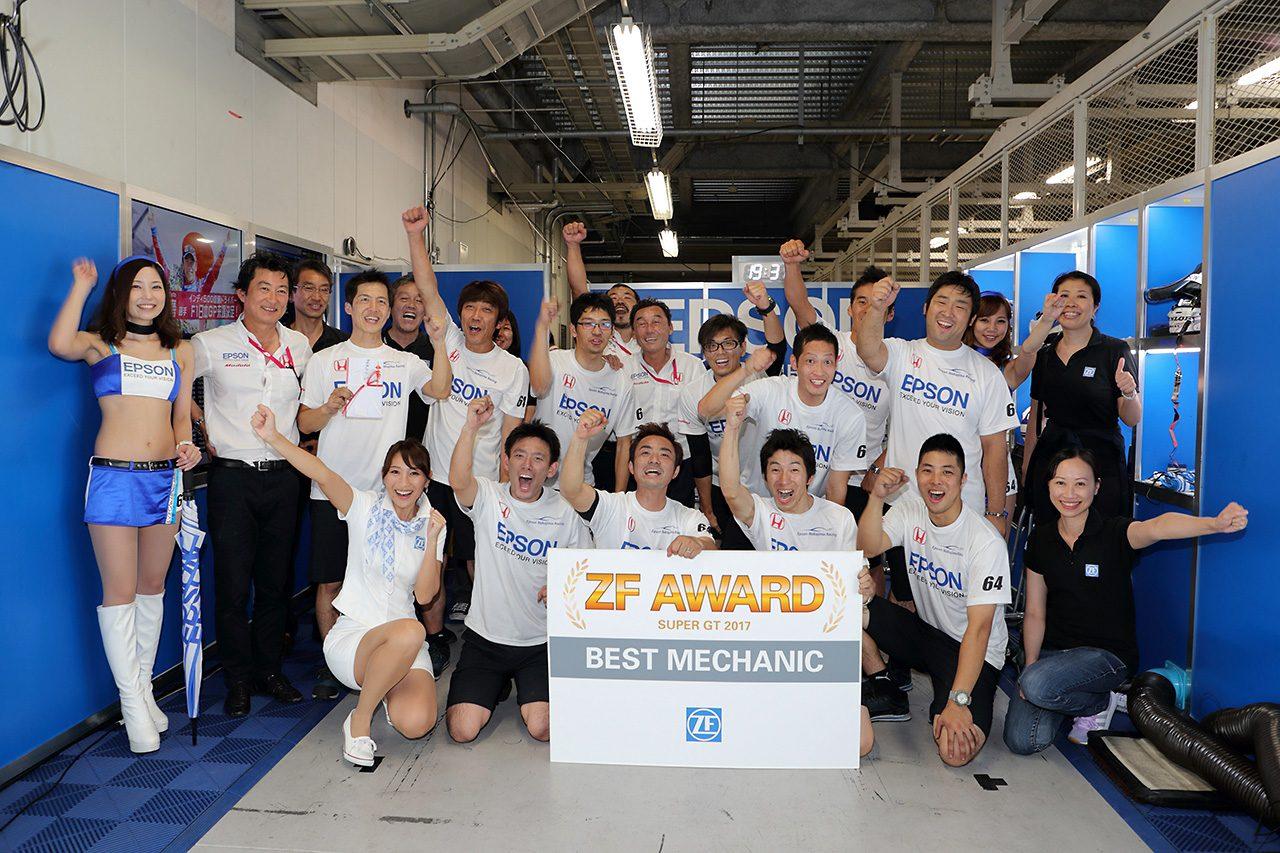 【動画】スーパーGT第6戦富士でNAKAJIMA RACINGがZF Awardを受賞しダブルの喜び