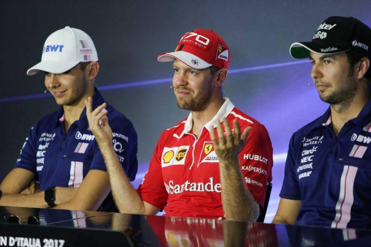 F1 | F1イタリアGP木曜会見:殊勝なコメントを繰り返すペレスとオコン「チームが最優先」
