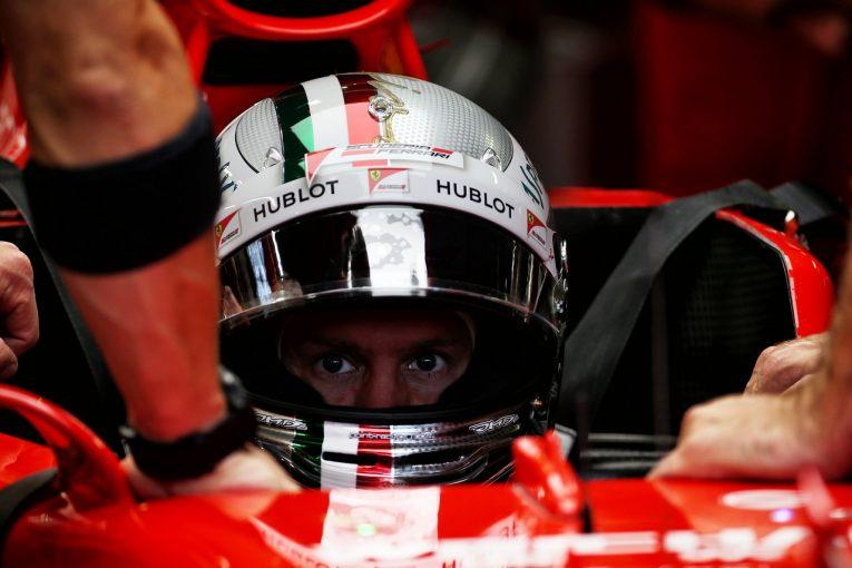 F1 | ベッテル「まだ自信を持ってプッシュできる状態ではない」:フェラーリ F1イタリアGP金曜