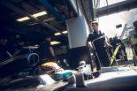 F1 | ハミルトン「フェラーリを打ち負かしてお祝い気分に水を差したい!」:メルセデス F1イタリアGP金曜