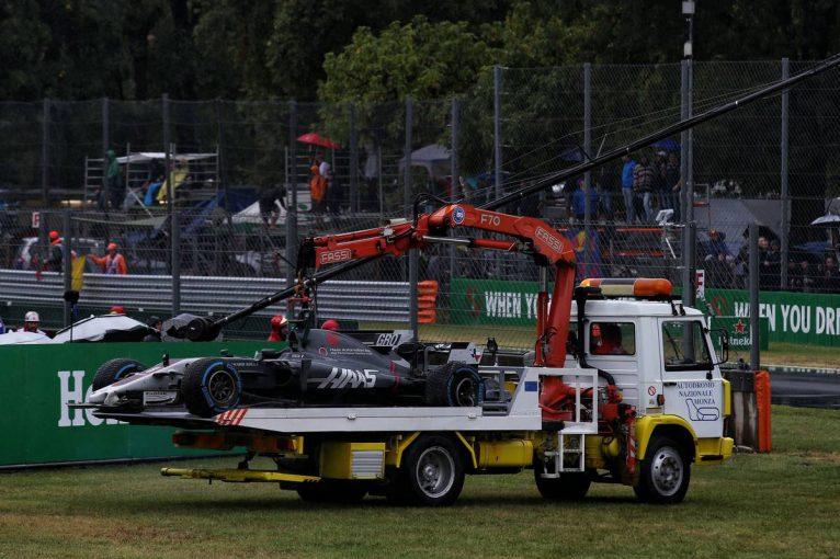F1 | F1イタリアGP予選:雨脚が強まるモンツァ、Q1途中から2時間以上セッションが中断