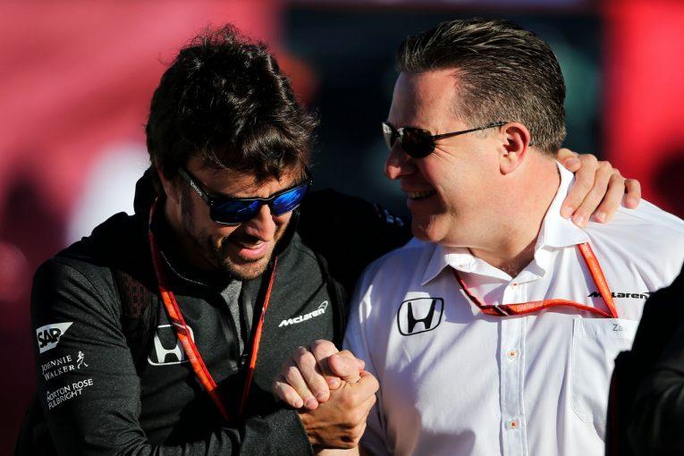F1 | マクラーレンF1「アロンソが去る場合のプランB、プランCは用意してある」