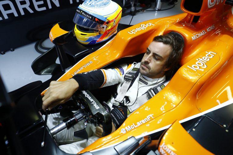 F1 | アロンソ予選13位「降格を考慮せずに全力で攻めることができたら、トップ5に入れた」マクラーレン・ホンダF1
