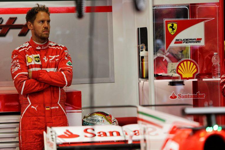 F1 | ベッテル8位「ライバルの速さに驚いた…明日ドライになれば挽回できるはず」フェラーリ F1イタリアGP土曜