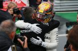 F1 | ハミルトン、F1ポール最多記録を更新「レッドブルがプッシュしてくれたおかげで最高の走りができた」