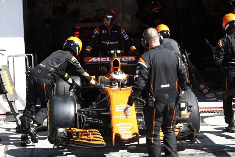 F1 | ホンダ「決勝に向けてパワーユニットを交換したが、再度トラブルが発生」/F1イタリアGP日曜