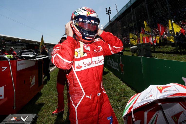 F1   ライコネン5位「モンツァとの相性が悪いのがつくづく残念。週末を通して苦しんだ」フェラーリF1イタリアGP