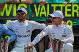 F1 | ボッタス2位「苦戦した予選から挽回し、チームにとって完璧な結果を出した」メルセデス F1イタリアGP日曜