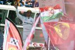 F1 | ハミルトン、今季6勝目でランキング首位に。「ティフォシから嫌われたって気にしない」:F1イタリアGP