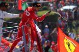 F1 | ベッテル「ランキング2位後退に焦りはない。最後にトップに立てばいいんだ」フェラーリ F1イタリアGP日曜
