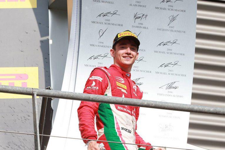 F1   F1 Topic:F2首位のルクレールがザウバーでフリー走行を担当。2018年シーズンへの布石か