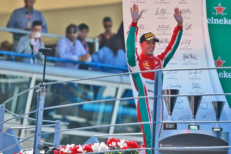 海外レース他 | FIA F2:プレマ・セオドールレーシング 2017年第9戦イタリア レースレポート