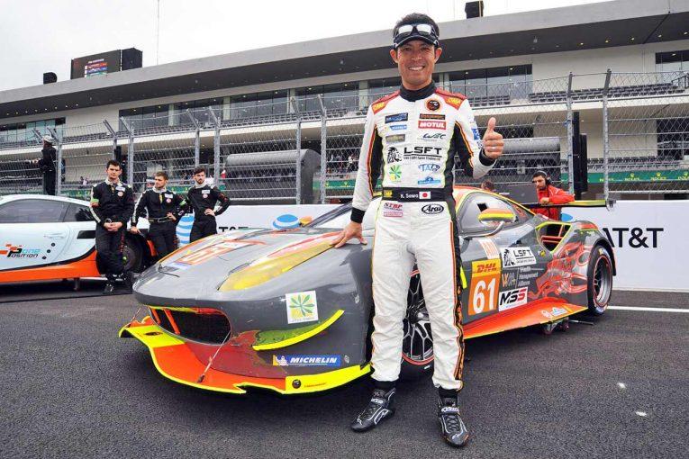 日本人として唯一LM-GTEアマクラスにフル参戦している澤圭太