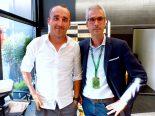 F1 | 【あなたは何しに?】マネージャーと一緒にF1イタリアGPに訪れていたクビカ
