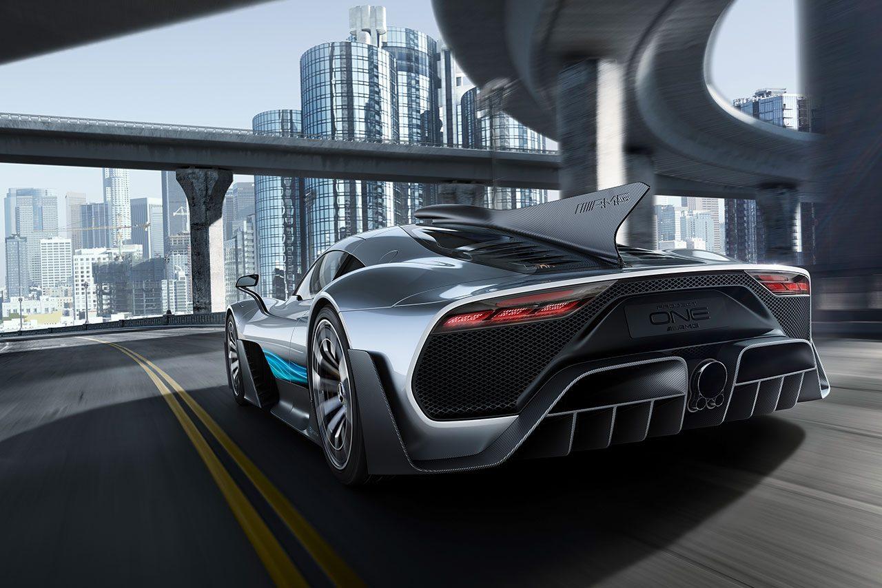 メルセデスAMG、F1と同じPU搭載の『プロジェクト・ワン』を世界初公開。販売価格は約3億円?