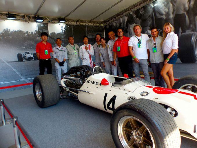 F1 | F1 Topic:優勝50周年を記念しイタリアGPでデモラン、名車『RA300』に託されたホンダの思い