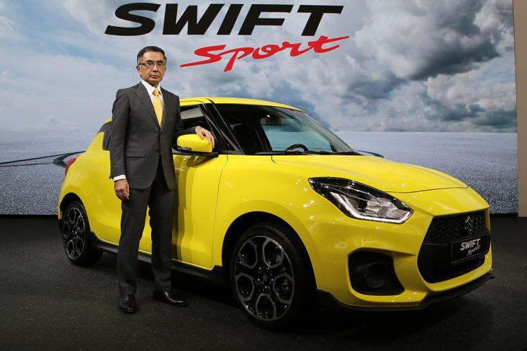 クルマ | スズキ、新型スイフトスポーツを発表。6MT車183万円で9月20日から発売