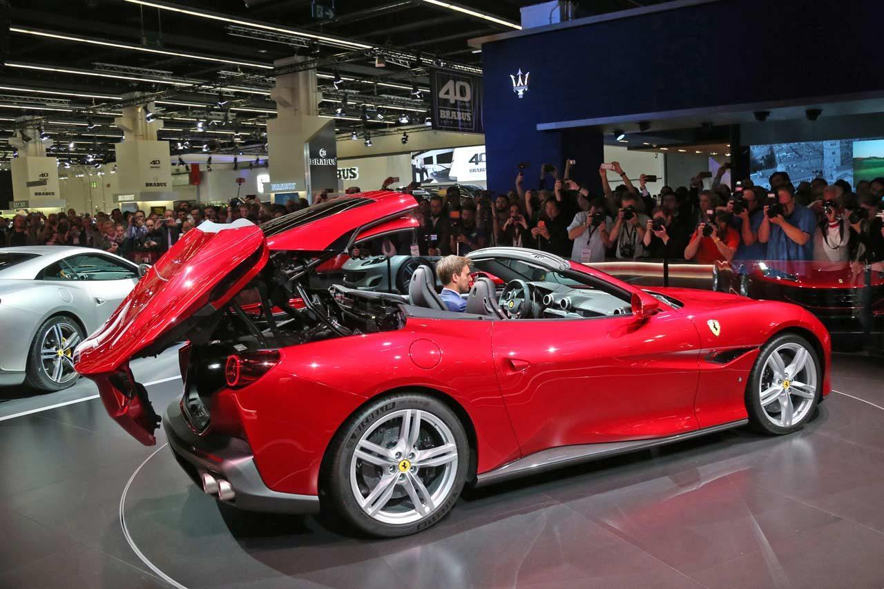 V8ターボ搭載の新型コンバーチブル『フェラーリ・ポルトフィーノ』がワールドプレミア