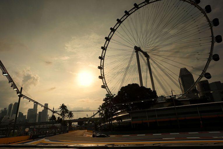 F1 | 【タイム結果】F1第14戦シンガポールGP フリー走行1回目