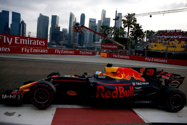 F1 | F1シンガポールGP FP1:リカルドがトップタイム、パワー不足に不満を訴えるアロンソは8番手