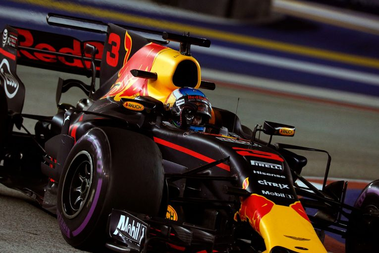 F1 | F1シンガポールGP FP2:初日最速はリカルド。マクラーレン・ホンダ勢は6、7番手と好調な出だし