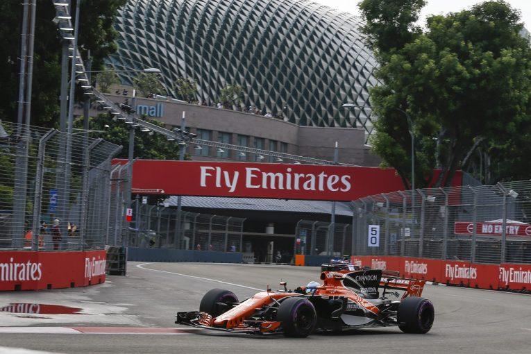 F1   ホンダ「ふたりが予選でポジティブな結果を出してくれると期待」/F1シンガポールGP金曜