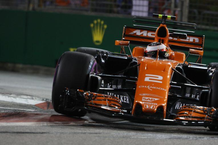 F1 | マクラーレン「余裕のトップ10入りはうれしい。上位グリッドを目指す」/F1シンガポールGP金曜