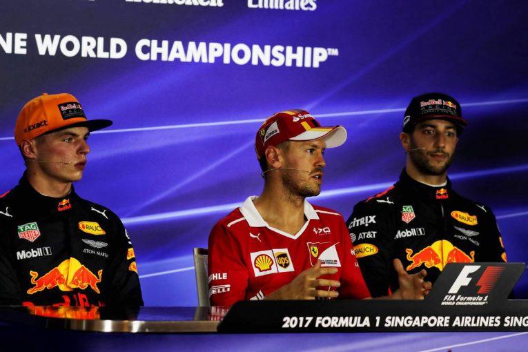 F1   F1第14戦シンガポールGP予選トップ10ドライバーコメント