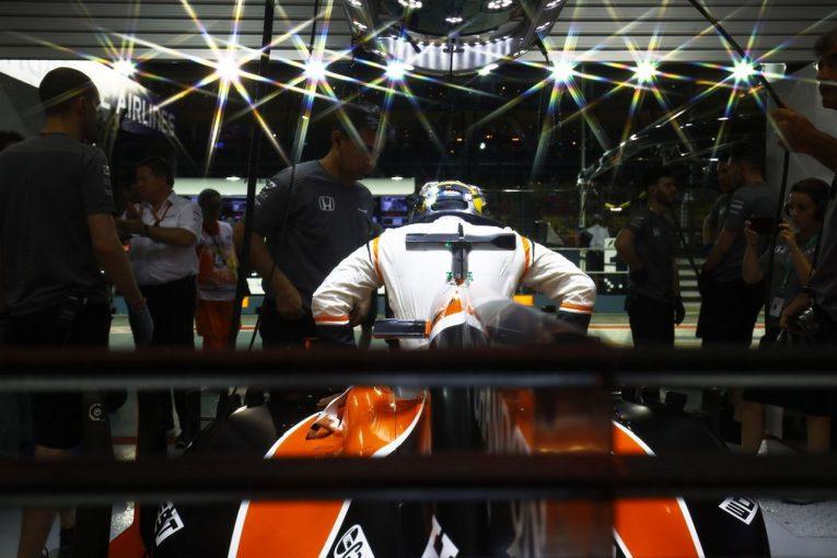 F1 | アロンソ「予選で4位を再現できなくて残念。日曜にはトップ6を狙えるといいね」マクラーレン・ホンダF1