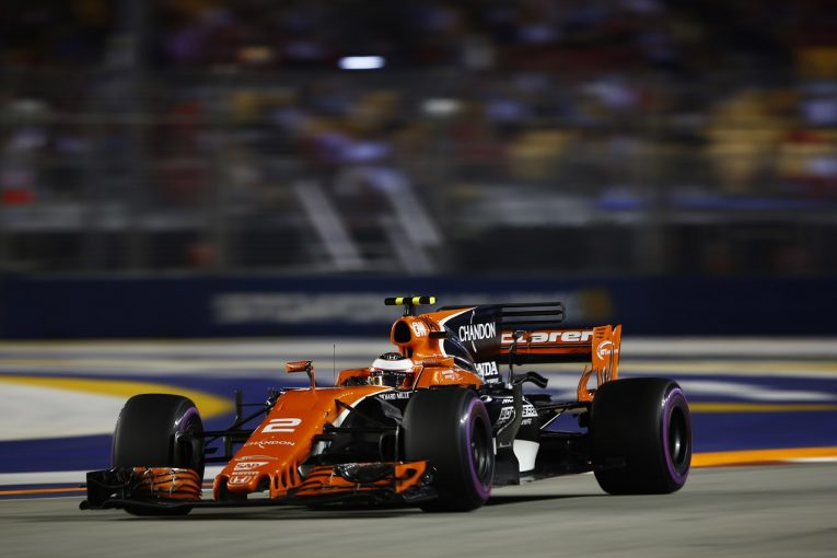F1 | ホンダ「揃ってQ3に進出し、競争力示した。トップとの差をさらに縮めていきたい」/F1シンガポール土曜